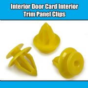 10x CLIPS FOR FORD FIESTA FOCUS GALAXY KA DOOR TRIM PANEL CARD INTERIOR FASTENER